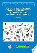 Justicia restaurativa mediaci n penal y penitenciaria un for Mediacion penitenciaria
