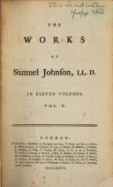 Página del título